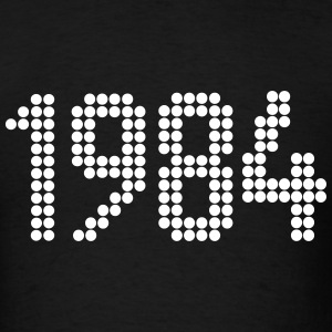 1984, Numbers, Year, Year Of Birth T-Shirts - Men's T-Shirt