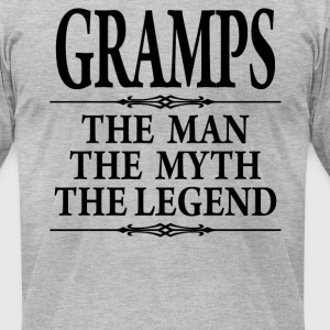 Gramps The Man The Myth The Legend - Men's T-Shirt by American Apparel