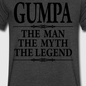 Gumpa The Man The Myth The Legend - Men's V-Neck T-Shirt by Canvas
