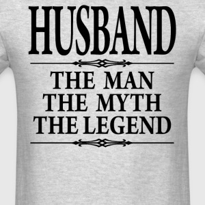 Husband The Man The Myth The Legend - Men's T-Shirt