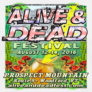Alive&Dead Fest Official T-Shirts - Men's Premium T-Shirt