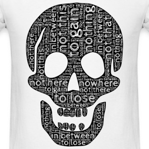skull typography T-Shirts - Men's T-Shirt