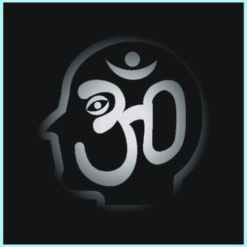 Black Logo 4 Inch Plain