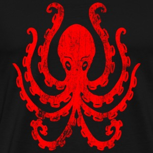Vintage octopus - Men's Premium T-Shirt