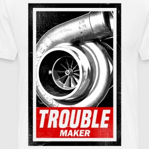 trouble_maker_subgirl T-Shirts - Men's Premium T-Shirt