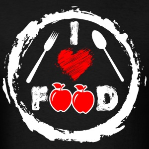 I Love Food Food Lover  - Men's T-Shirt