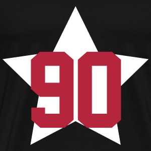 90 star T-Shirts - Men's Premium T-Shirt