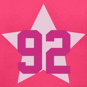 92 star T-Shirts - Women's V-Neck T-Shirt