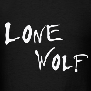 Lone Wolf - Men's T-Shirt