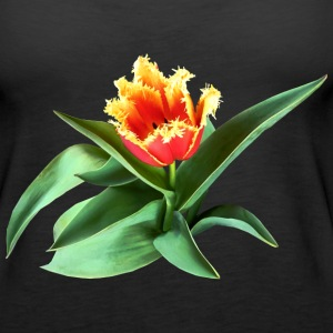 Frilly Orange Tulip Tanks - Women's Premium Tank Top