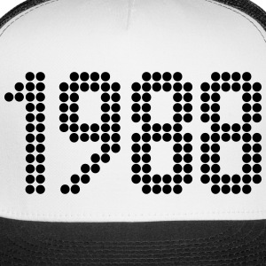 1988, Numbers, Year, Year Of Birth Sportswear - Trucker Cap