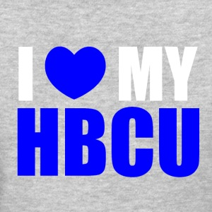 I love my HBCU Blue T-Shirts - Women's T-Shirt