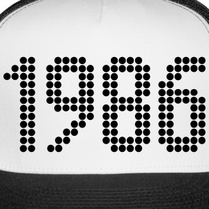 1986, Numbers, Year, Year Of Birth Sportswear - Trucker Cap
