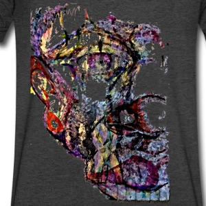 Thirdman - Men's V-Neck T-Shirt by Canvas