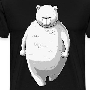 white bear - Men's Premium T-Shirt