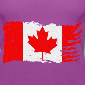 CANADA STRONG FLAG - Women's Premium Tank Top