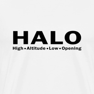 HALO skydive - Men's Premium T-Shirt