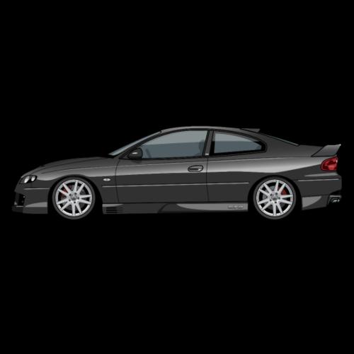 Holden Monaro HSV GTO (V2) black