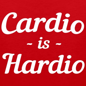 Cardio is Hardio Sportswear - Men's Premium Tank