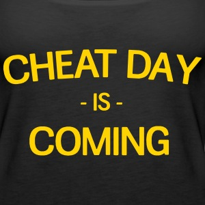 Cheat Day is Coming Tanks - Women's Premium Tank Top