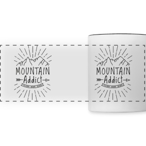 Mountain Addict - Panoramic Mug