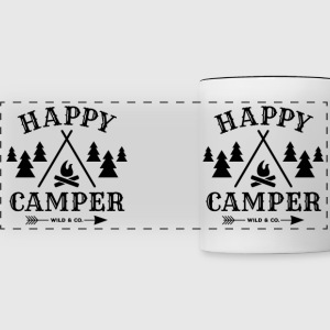 Happy Camper - Panoramic Mug
