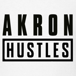 Akron Hustle; Don - Men's T-Shirt