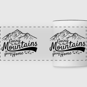 Going to the Mountains - Panoramic Mug