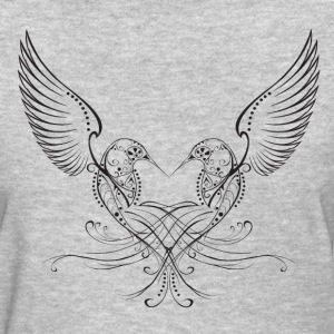 Humming Heart T-Shirts - Women's T-Shirt