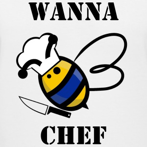 Wanna Bee Chef - Women's V-Neck T-Shirt