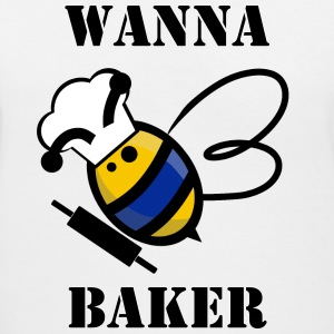 Wanna Bee Baker - Women's V-Neck T-Shirt