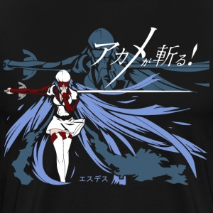 Akame Ga Kill - Esdeath T-Shirts - Men's Premium T-Shirt