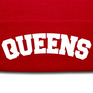 QUEENS, NYC Sportswear - Knit Cap with Cuff Print