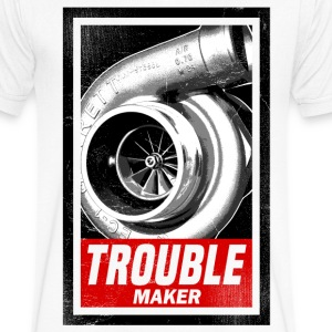BOOST TROUBLE MAKER  T-Shirts - Men's V-Neck T-Shirt by Canvas