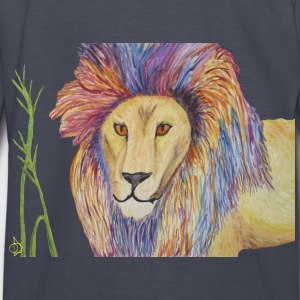Punk Lion Kid's Long Sleeve T-shirt - Kids' Long Sleeve T-Shirt