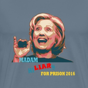 Liar for Prison 2016 T-Shirts - Men's Premium T-Shirt