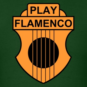 play flamenco - Men's T-Shirt