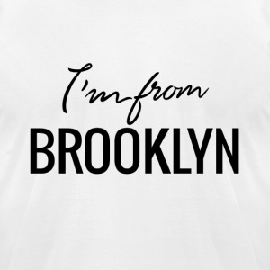 Made in Brooklyn - Men's T-Shirt by American Apparel