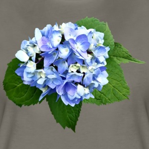 Blue and Purple Hydrangea T-Shirts - Women's Premium T-Shirt