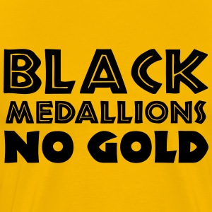 BLACK MEDALLIONS NO GOLD T-Shirts - Men's Premium T-Shirt