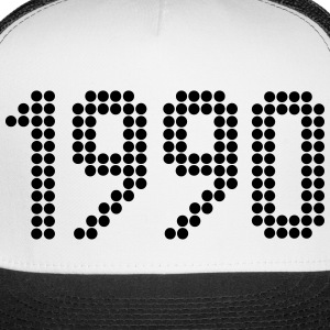 1990, Numbers, Year, Year Of Birth Sportswear - Trucker Cap