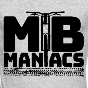 MTB Maniacs Jersey Shirt - Men's Long Sleeve T-Shirt by Next Level