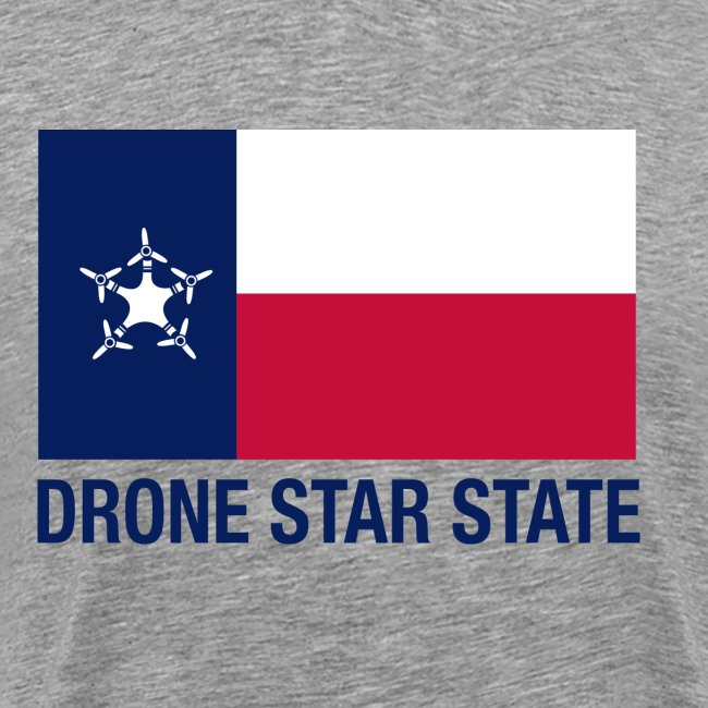 Drone Star State - Gray