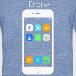 iDrone T-Shirts - Unisex Tri-Blend T-Shirt by American Apparel