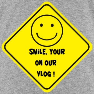 Smile Your on Our Vlog Shirt - Kids' Premium T-Shirt
