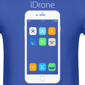 iDrone - Royal Blue - Men's T-Shirt