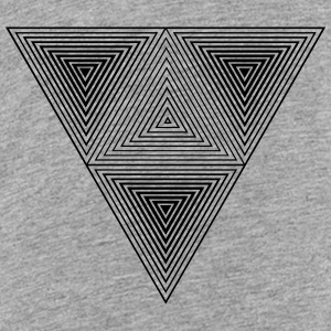 Optical illusion (Hipster triangle) Black & White  Baby & Toddler Shirts - Toddler Premium T-Shirt
