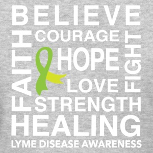 BELIEVE, HOPE, HEALING. LYME DISEASE - Women's T-Shirt