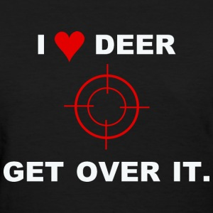 i love deer T-Shirts - Women's T-Shirt