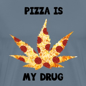Pizza Is My Drug - Men's Premium T-Shirt